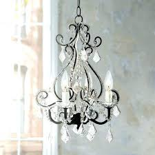wrought iron crystal chandelier chandeliers lighting h x w swag plug in chandelier w feet of hanging chain and wi luxury plug in chandeliers