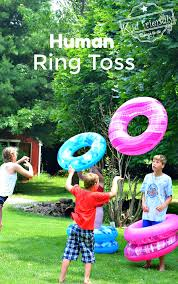 human ring toss game a fun and easy summer outdoor game for kids and s