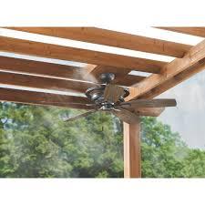 hampton bay 52 in misting fan outdoor