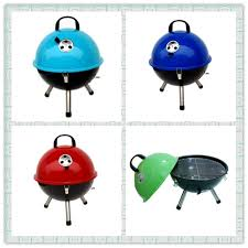 wholes 14 5 round shape football shape enamel charcoal bbq bbq grill