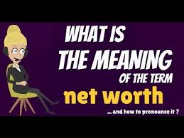 What Is Networth What Is Net Worth What Does Net Worth Mean Net Worth Meaning