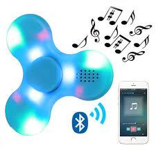 Fidget Spinner With Bluetooth Speaker And Lights Fidget Spinner Fidget Spinner Toy Spinner Toy Finger Fidget