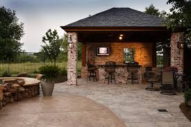 new orleans style outdoor kitchen cabana rustic patio dallas by dallas outdoor kitchens hardscape
