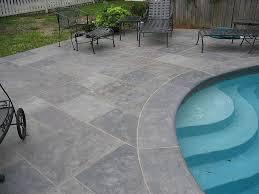 stamped concrete patios around pools