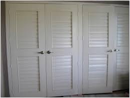closet doors. Louvered Closet Doors White D