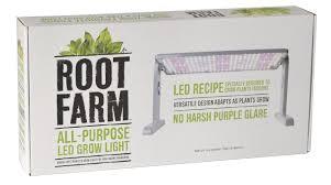 Amazon Led Grow Light Reviews Amazon Com Root Farm All Purpose Led Grow Light 45w