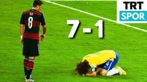 Brezilya 1-7 Almanya 2014 Dünya Kupası Yarı Final Trt Spor Maç Özeti -  YouTube