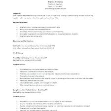 Objective On Resume For Cna Resume Objective Example Cna Resume Objective Statement Examples 99
