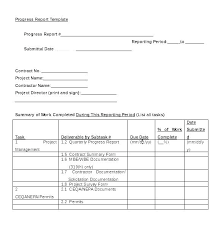 Quarterly Status Report Template Quarterly Progress Report Template Quarterly Performance