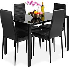5 Pieces - Table & Chair Sets / Kitchen & Dining ... - Amazon.com