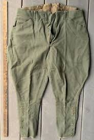 Us Army Cavalry Details About Ww1 Us Army Cavalry Officers Wool Riding Breeches