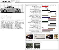 Sc430 Paint Code Discussion Clublexus Lexus Forum Discussion
