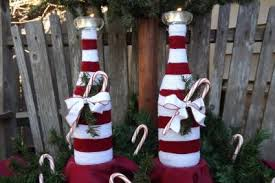 How To Decorate A Wine Bottle For Christmas Wine Bottle Christmas Decorations LoveToKnow 30
