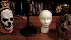Mask Display Stand Cheap and Easy Mask Stands YouTube 20