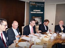 on the 4th june the globaltrading journal hosted its second annual post trade roundtable last year s was welcomed by a black rainstorm and this year s was