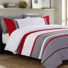 versailles gadsby 5 piece queen duvet cover set in grey