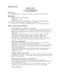 help with resume wording resume wording leadership skills 9 camp counselor  free sample example format download