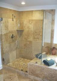 doorless shower plans cozy shower with ceiling lights and crown molding plus tile wall for modern bathroom small doorless shower designs