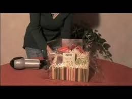 unique gift basket ideas shrink wrapping gift baskets