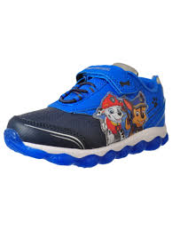 Paw Patrol Light Up Shoes Walmart Paw Patrol Paw Patrol Boys Light Up Sneakers Sizes 7 12 Walmart Com