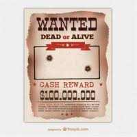 Wanted Poster Template For Pages Wanted Poster Free Vector Graphic Art Free Download Found 6 793