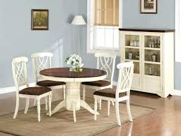small cream dining table and chairs