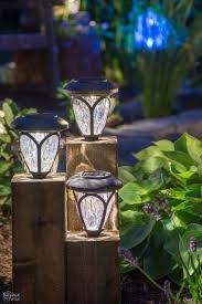 do it yourself outdoor lighting. DIY Ideas For The Outdoors - Cedar Cube Landscape Lights Best Do It Yourself Yard Projects Camping Patio And Spending Time In Garden Outdoor Lighting T