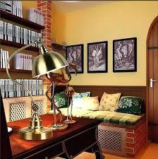 library desk lamp library desk lamp art bronze table led work reading light study library desk lamp