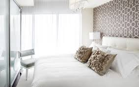 Trendy bedroom photo in Toronto with multicolored walls