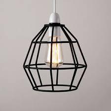 wire pendant lighting. image is loading blackmetalwireframecageceilingpendantlight wire pendant lighting r