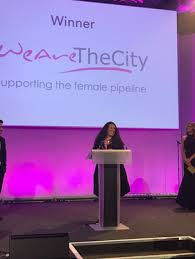 Wearethecity Wins Inspiration Award