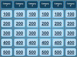 Free Jeopardy Template With Sound Jeopardy Powerpoint Template Great Group Games