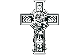 Coloring Pages Of Crosses Coloring Adult Coloring Pages Cross