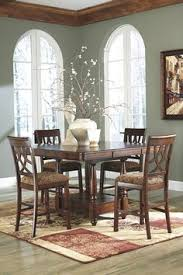 leahlyn 5 piece dining room set table and 4 chairs by ashley furniture at