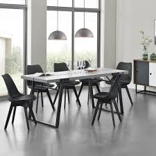Encasa Esstisch 6 Stühle Küchentisch Esszimmertisch