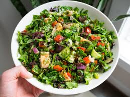 a quick basic chopped salad that is a starting base for wver salad creations you may