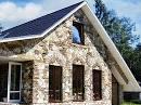 Декор фасада домов фото