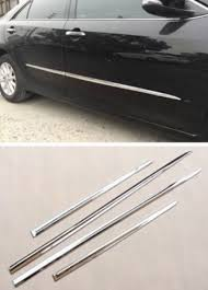 abs chrome car body side door molding