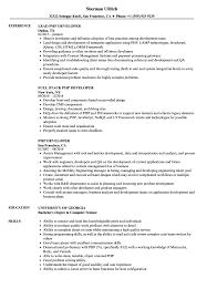 Sql Server Developer Resume Examples PHP Developer Resume Samples Velvet Jobs 32