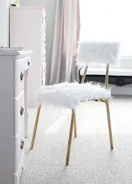 diy fur desk chair one room challenge week 5 less desk chair with fur