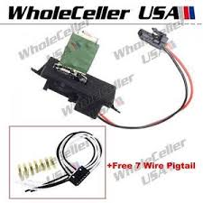 ac blower motor resistor w wiring harness for chevy avalanche image is loading ac blower motor resistor w wiring harness for