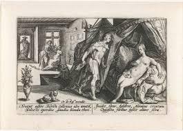 Mercurius En Herse Metamorfosen Van Ovidius Passe Crispijn Van