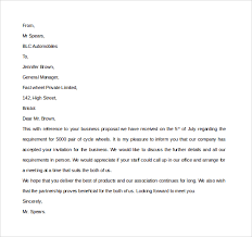 Business Invitation Letter Format