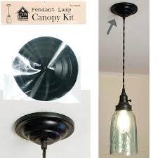 pendant light canopy hardware lamp kit 5