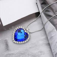 <b>Titanic Heart Of</b> Ocean <b>Necklace</b> for sale | eBay