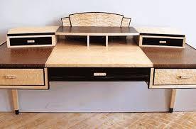 art deco desk with computer pullout art deco desk computer