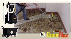 Floor Linoleum For Kitchens Commercial Kitchen Floor Cleaning Machine Youtube
