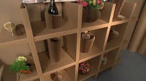 Corrugated Cardboard Furniture Housesmarts Green Piece Cardboard Design Episode 83 Youtube