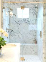 marble shower walls marble shower elegant white tile and marble tile alcove shower photo in marble marble shower