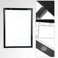 Artist Light Box A3 Led Light Pad Drawing Board Tracing Light Box Stencil Art Design Pad Graphic Artist Painting Tools Tracing Table Pad Eu Plug